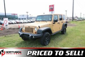 2013 Jeep Wrangler Unlimited 4WD  MOAB Accident Free,  Leather,