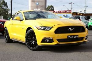 2016 Ford Mustang FM MY17 GT Fastback Yellow 6 Speed Manual Fastback Liverpool Liverpool Area Preview