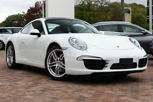 2013 Porsche 911 Carrera 991 PDK White 7 Speed Sports Automatic Dual Clutch Coupe Osborne Park Stirling Area Preview