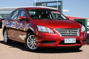 2013 Nissan Pulsar B17 ST Red 1 Speed Constant Variable Sedan East Rockingham Rockingham Area Preview