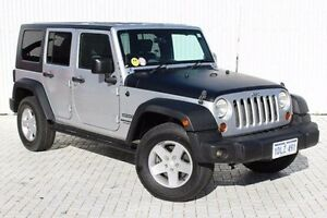 2010 Jeep Wrangler Silver Automatic Softtop Embleton Bayswater Area Preview