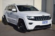 2014 Jeep Grand Cherokee WK MY15 Overland White 8 Speed Sports Automatic Wagon Woodbridge Swan Area Preview