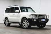 2012 Mitsubishi Pajero NW MY12 GLS White 5 Speed Sports Automatic Wagon Welshpool Canning Area Preview