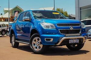 2016 Holden Colorado RG MY16 LTZ Crew Cab Blue 6 Speed Manual Utility Mindarie Wanneroo Area Preview