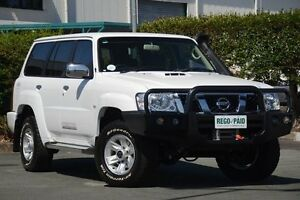 2015 Nissan Patrol Y61 GU 9 ST Polar White 4 Speed Automatic Wagon Acacia Ridge Brisbane South West Preview