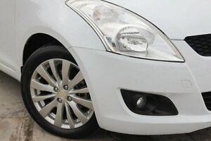 2012 Suzuki Swift White Manual Hatchback Bentleigh Glen Eira Area Preview