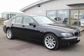 BMW 7 SERIES 3.0 730D 4d AUTO 228 BHP - 360 SPIN ON WEBSITE (black) 2006