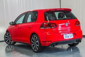 2011 Volkswagen Golf VI MY11 GTI DSG Adidas Red 6 Speed Sports Automatic Dual Clutch Hatchback Wangara Wanneroo Area Preview