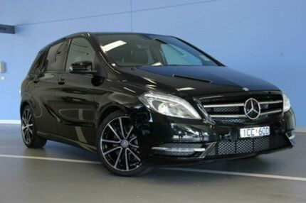2014 Mercedes-Benz B250 W246 DCT Black 7 Speed Sports Automatic Dual Clutch Hatchback Fairfield Darebin Area Preview