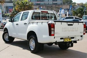 2013 Isuzu D-MAX TF MY12 SX HI-Ride (4x2) White 5 Speed Automatic Crewcab Dee Why Manly Area Preview