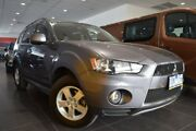 2012 Mitsubishi Outlander ZH MY12 Platinum 2WD Grey 6 Speed Constant Variable Wagon Hoppers Crossing Wyndham Area Preview