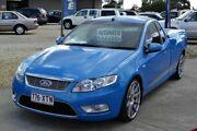 2008 Ford Falcon FG XR6 Blue 5 Speed Automatic Utility Sebastopol Ballarat City Preview