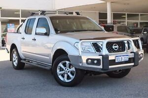 2014 Nissan Navara D40 S5 MY12 ST-X 550 Silver 7 Speed Sports Automatic Utility Osborne Park Stirling Area Preview