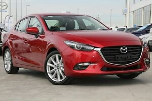2016 Mazda 3 BN MY17 SP25 GT Soul Red 6 Speed Automatic Sedan Gymea Sutherland Area Preview