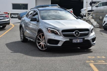 2015 Mercedes-Benz GLA 45 AMG 4MATIC X156 806MY AMG SPEEDSHIFT DCT 4MATIC Silver Chrome 7 Speed