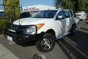 2012 Mazda BT-50 UP0YF1 GT White 6 Speed Sports Automatic Utility Seaford Frankston Area Preview