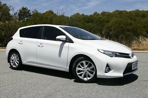 2013 Toyota Corolla ZRE182R Ascent Sport S-CVT White 7 Speed Constant Variable Hatchback Hillman Rockingham Area Preview