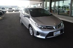 2013 Toyota Corolla ZRE182R Ascent Silver 7 Speed Constant Variable Hatchback Strathmore Heights Moonee Valley Preview
