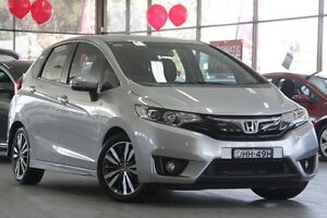 2015 Honda Jazz GF MY15 VTi-L Silver 1 Speed Constant Variable Hatchback Roseville Ku-ring-gai Area Preview