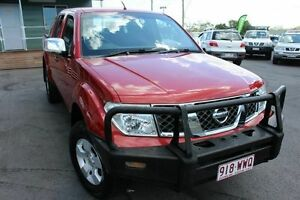 2008 Nissan Navara D40 ST-X Red 5 Speed Automatic Utility Wakerley Brisbane South East Preview
