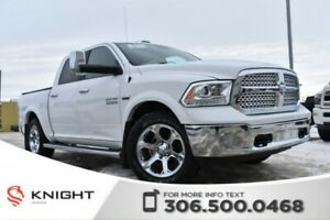 2015 Ram 1500 Laramie | Remote Start | Power Seats | Navigation