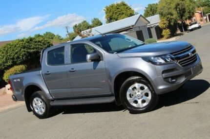2016 Holden Colorado RG MY17 LT Pickup Crew Cab Grey 6 Speed Sports Automatic Utility Nailsworth Prospect Area Preview