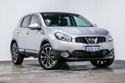 2012 Nissan Dualis J10W Series 3 MY12 Ti-L Hatch X-tronic 2WD Silver 6 Speed Constant Variable Welshpool Canning Area Preview