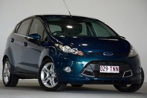 2013 Ford Fiesta WT Zetec Green 6 Speed Automatic Hatchback Coopers Plains Brisbane South West Preview