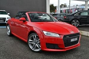 2015 Audi TT FV MY15 Sport S tronic quattro Red 6 Speed Sports Automatic Dual Clutch Roadster Burwood Whitehorse Area Preview