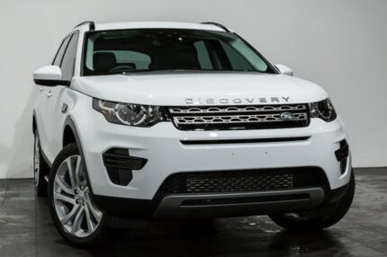 2017 Land Rover Discovery Sport L550 17MY Si4 SE White 9 Speed Sports Automatic Wagon