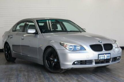 2005 BMW 530i E60 Steptronic Silver 6 Speed Sports Automatic Sedan Victoria Park Victoria Park Area Preview