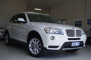 2012 BMW X3 F25 MY1011 xDrive30d Steptronic White 8 Speed Automatic Wagon Myaree Melville Area Preview