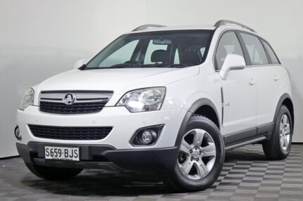 2012 Holden Captiva CG Series II MY12 5 AWD White 6 Speed Sports Automatic Wagon Edwardstown Marion Area Preview
