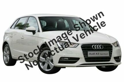 2014 Audi A3 8V MY15 Ambition Sportback S Tronic Quattro Blue 6 Speed Sports Automatic Dual Clutch Zetland Inner Sydney Preview