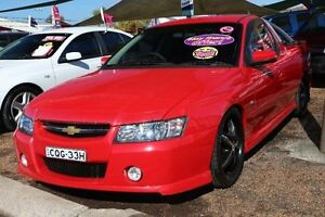 2007 Holden Ute VZ MY06 SVZ Red 5 Speed Automatic Utility Minchinbury Blacktown Area Preview