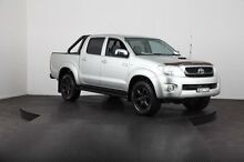 2011 Toyota Hilux KUN26R MY11 Upgrade SR5 (4x4) Silver Metallic 4 Speed Automatic Dual Cab Pick-up Mulgrave Hawkesbury Area Preview