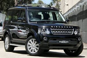 2016 Land Rover Discovery MY16 3.0 TDV6 Black 8 Speed Automatic Wagon Petersham Marrickville Area Preview