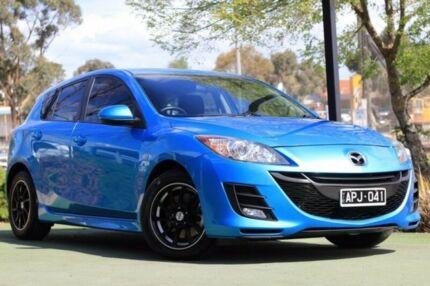 2010 Mazda 3 BL10C1 MY10 MZR-CD Blue 6 Speed Manual Hatchback