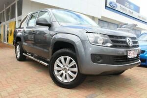 2015 Volkswagen Amarok 2H MY15 TDI420 4MOTION Perm Core Grey 8 Speed Automatic Utility