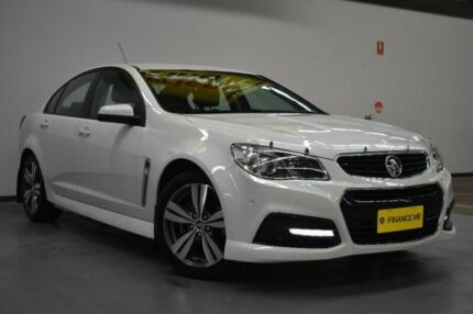 2014 Holden Commodore VF MY14 SV6 Heron White 6 Speed Sports Automatic Sedan