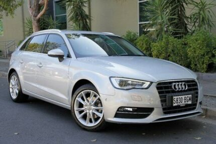 2014 Audi A3 8V Ambition Sportback S tronic Silver 6 Speed Sports Automatic Dual Clutch Hatchback Eastwood Burnside Area Preview