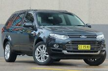 2012 Ford Territory SZ TS (4x4) Grey 6 Speed Automatic Wagon Wolli Creek Rockdale Area Preview