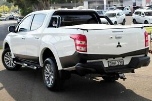 2015 Mitsubishi Triton MQ MY16 GLS Double Cab White 6 Speed Manual Utility North Gosford Gosford Area Preview
