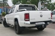 2018 Volkswagen Amarok 2H MY18 TDI550 4MOTION Perm Highline White 8 Speed Automatic Utility Waitara Hornsby Area Preview