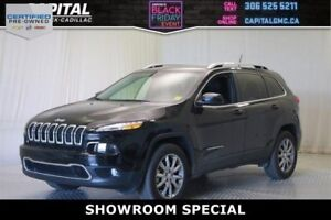 2017 Jeep Cherokee Limited 4WD *Remote Start, Back Up Camera, Na