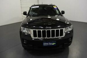 2012 Jeep Grand Cherokee WK Laredo (4x4) Black 5 Speed Automatic Wagon Moorabbin Kingston Area Preview