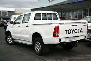 2011 Toyota Hilux  White Automatic Utility Frankston Frankston Area Preview