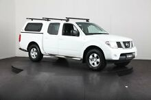 2010 Nissan Navara D40 RX (4x4) White 5 Speed Automatic Dual Cab Pick-up Mulgrave Hawkesbury Area Preview