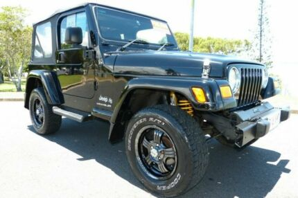 Jeep for sale in rockhampton region qld gumtree cars 2006 jeep wrangler tj my2006 65th anniversary black 6 speed manual softtop fandeluxe Images