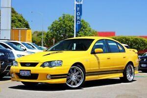 2004 Ford Falcon BA Mk II XR8 Yellow 4 Speed Sports Automatic Sedan